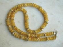 Heliodor - náhrdelník