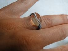 Křišťál - prsten