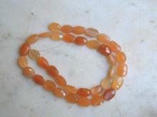 Měsíční kámen oranžový facetovaný