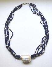 náhrdelník Perla a Lapis